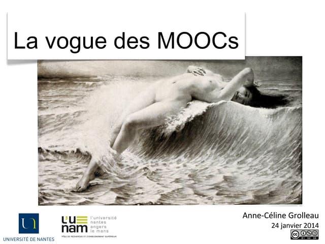 Atelier 1 - MOOC, un bouleversement pédagogique - Anne-Cécile Grolleau