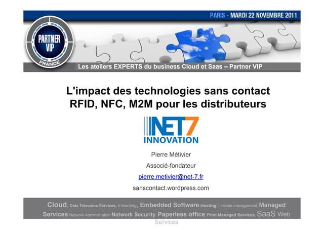 L'impact des technologies sans contact RFID NFC pour les distributeurs