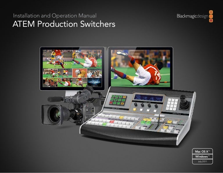 Blackmagic Design Atem Series