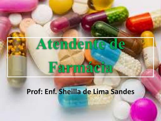 Atendente de Farmacia