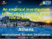 INDEPENDENT STUDY: Athens as an International Tourism Destination