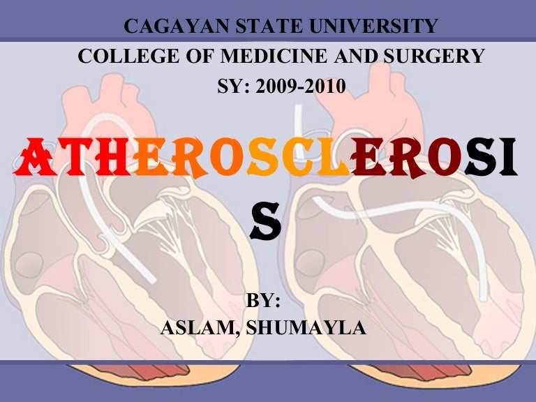 Atherosclerosis ppt.