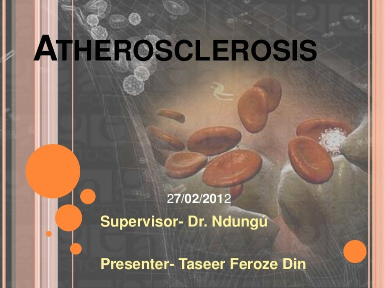 Atherosclerosis cardiology: free powerpoint template download.