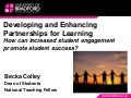 Developing and Enhancing Partnerships for Learning