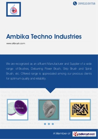 Ambika Techno Industries, Faridabad, Disc Brush