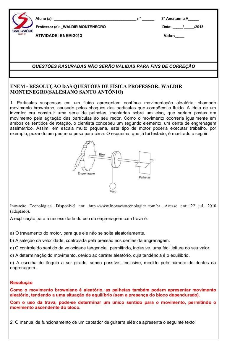 9c3f0e247ed Atividades de física para o enem 2013 prof waldir montenegro 1000