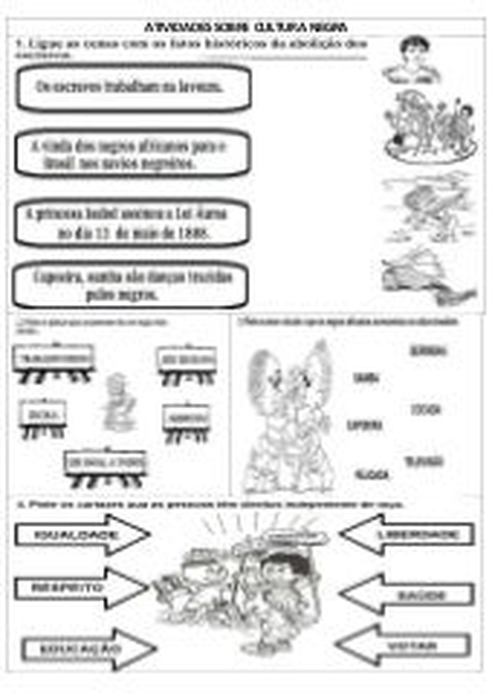 Projeto Cultura Afro Brasileira