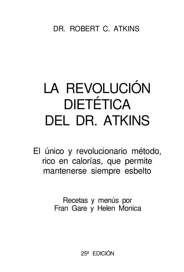 La dieta del doctor atkins pdf descargar