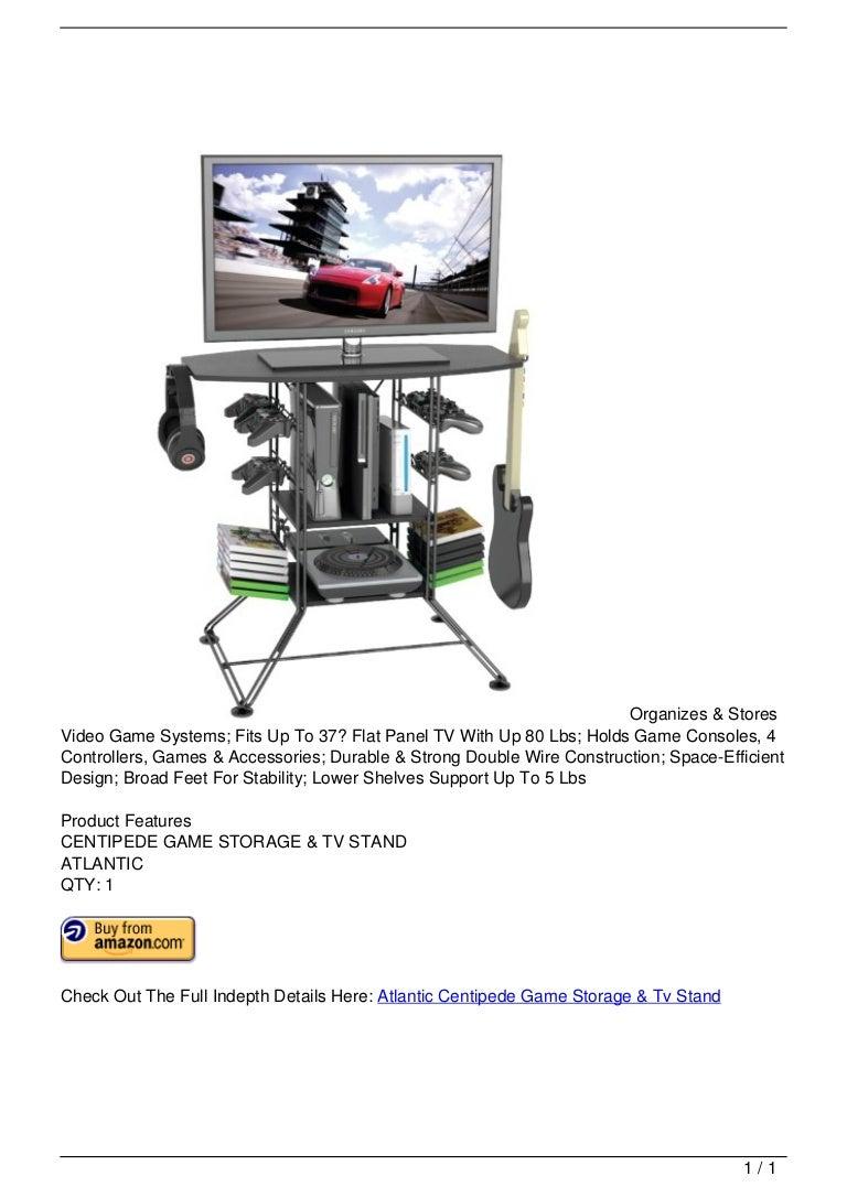 Atlantic Centipede Game Storage Amp Tv Stand