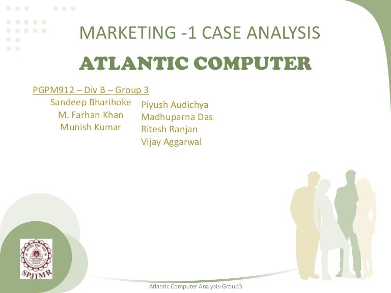 Atlantic computer a bundle of pricing options solution 3000