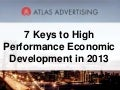 Atlas 7 Keys to High Performance Economic Development