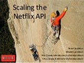 Scaling the Netflix API - From Atlassian Dev Den