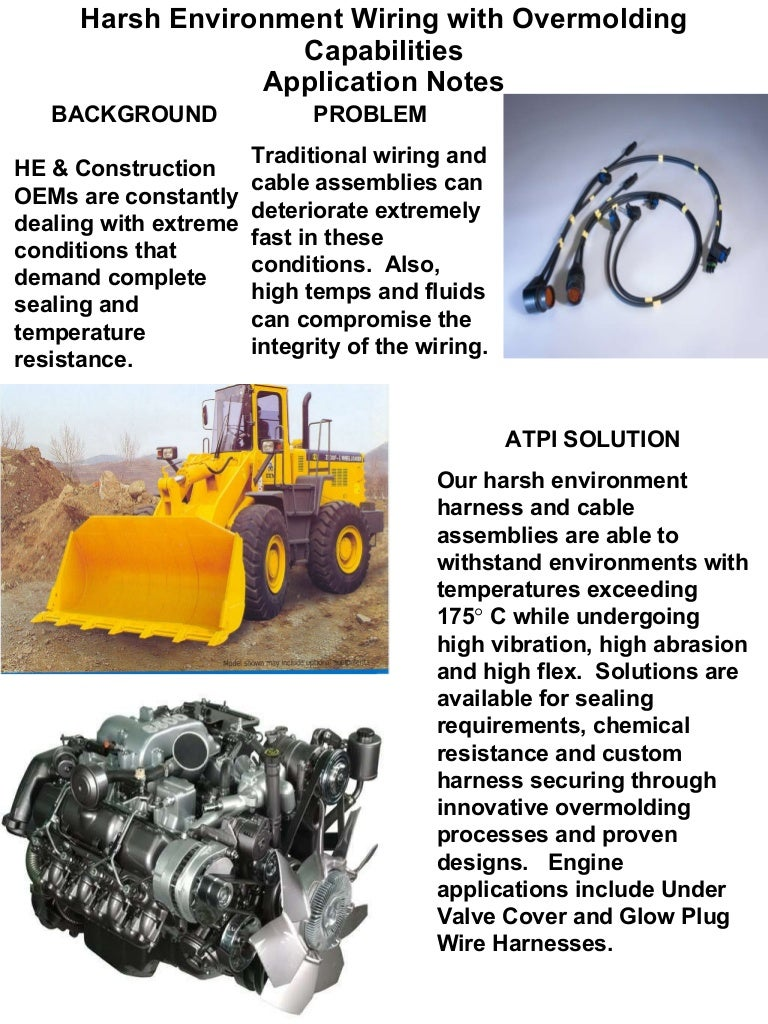 Atpi Application Notes Wiring Harness Construction