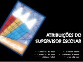 Atribuicoes do supervisor