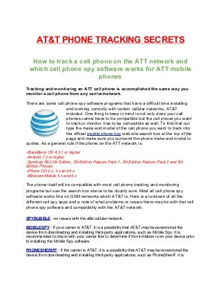 Att mobile-phone-tracking-monitoring