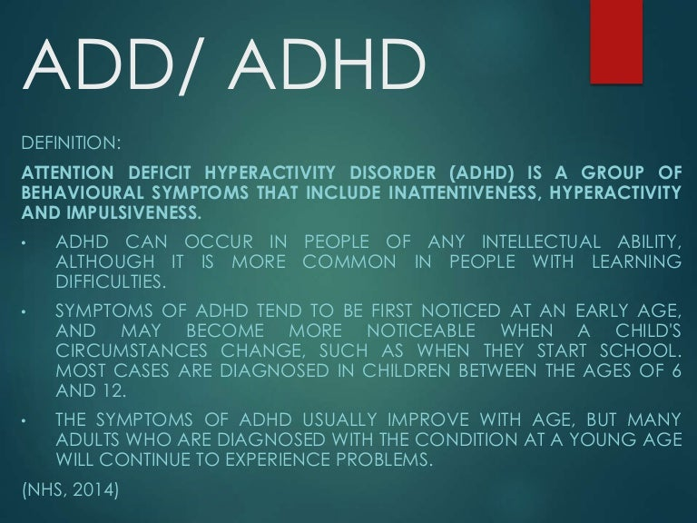 papillary lesion with adhd