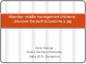 Attention Middle Management Chickens