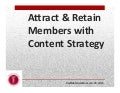 Attract & Retain Members with Content Strategy