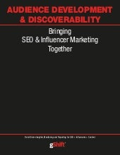 Audience Development with SEO & Influencer Marketing by gShift