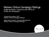 Audience r&f gr ps   online ad campaigns