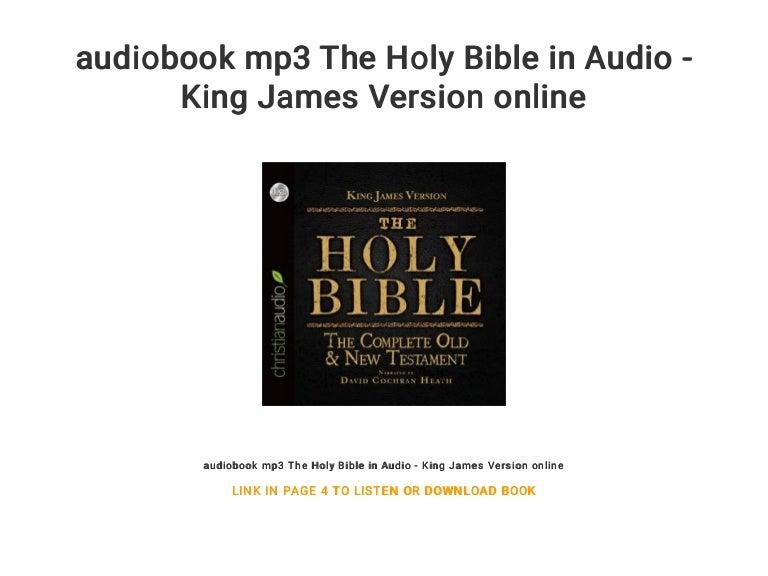 holy bible king james version online