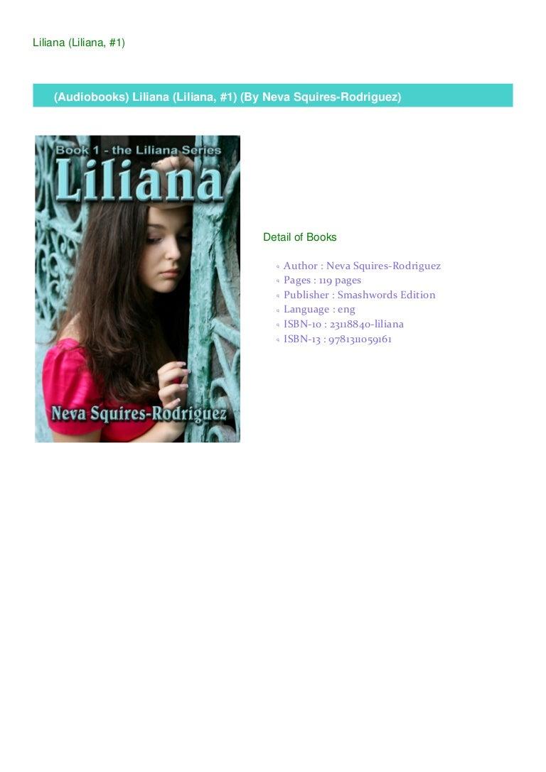 Download Liliana Liliana 1 By Neva Squires Rodriguez
