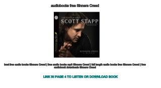 audiobooks free Sinners Creed