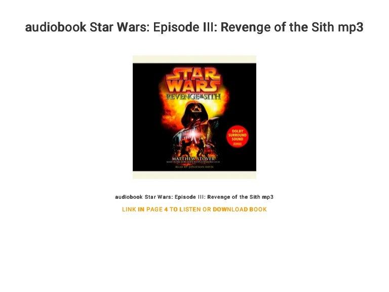 Audiobook Star Wars Episode Iii Revenge Of The Sith Mp3