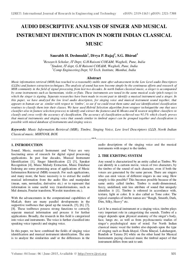 music research papers