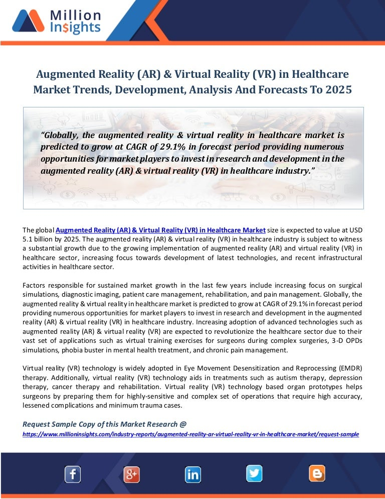 e3f426ada07a Augmented reality (ar)  amp  virtual reality (vr) in healthcare market  trends