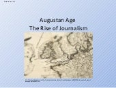 Augustan Age The Rise Of Journalism