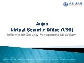 Virtual Security Office – Align with Leading Security Practices