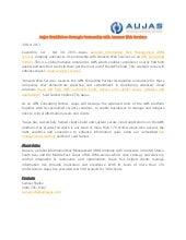 Aujas Establishes Strategic Partnership With Amazon Web Services