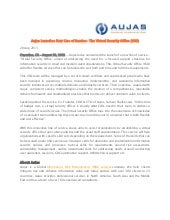 Aujas Launches New Line of Service- The Virtual Security  Office (VSO)