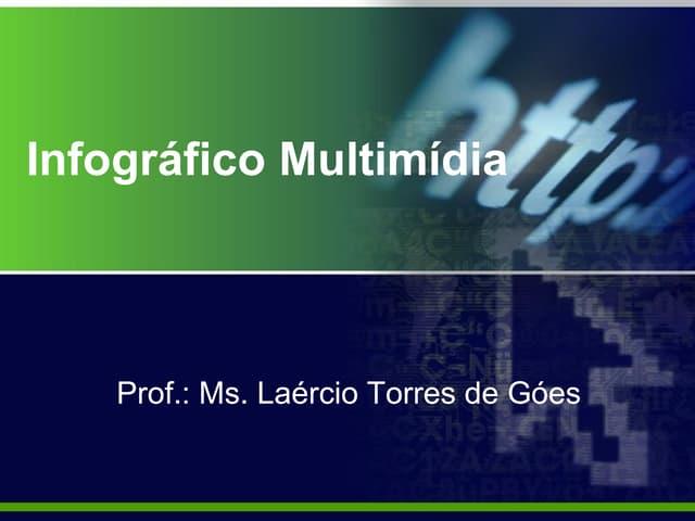 Infográfico Multimídia