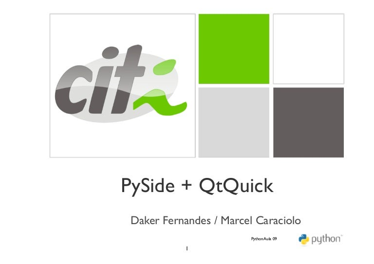 CITi - PySide