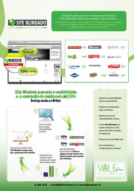 Folder Site Blindado - Aumente a conversão das vendas online