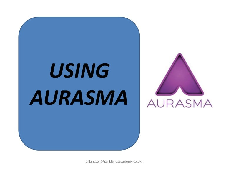 Aurasma Instructions