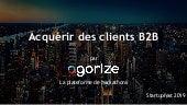 Startupfest 2019 - Acquérir des clients B2B