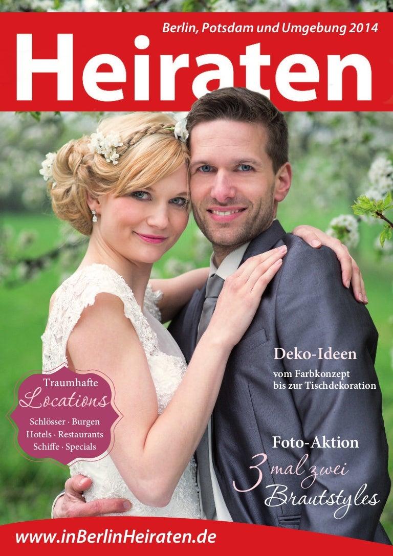 Ausgabe Magazin Heiraten in Berlin - 2014