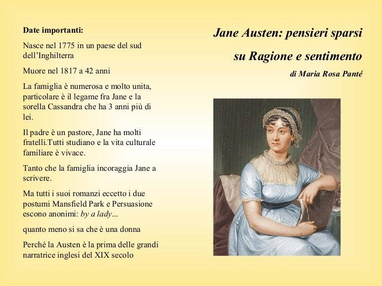 Frasi Matrimonio Jane Austen.Pensieri Sparsi Su Jane Austen E Ragione E Sentimento