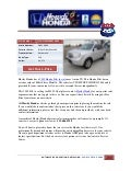 Austin honda pilot for sale