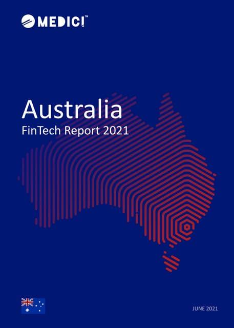 Australia FinTech Report 2021 – Executive Summary