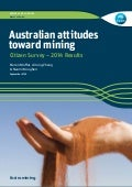 Australian Attitudes Towards Mining