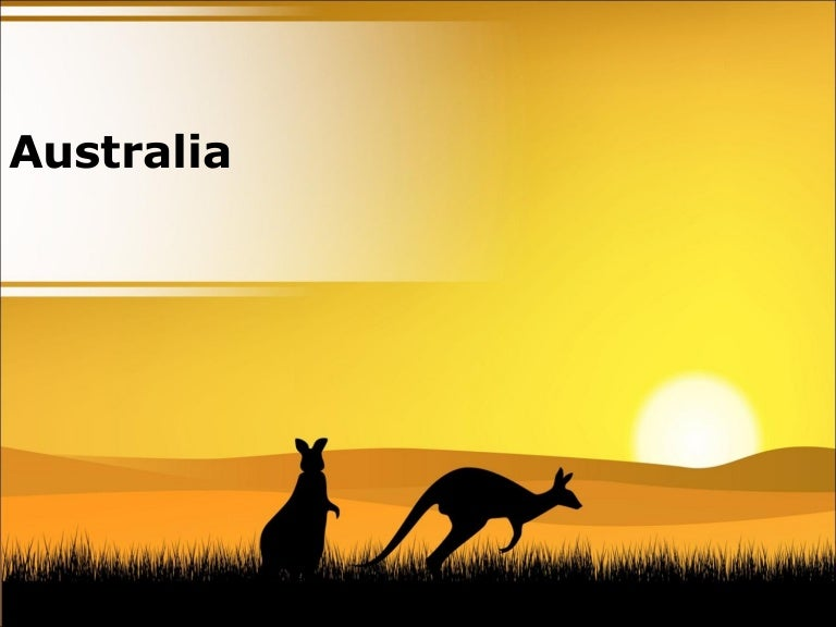 australia powerpoint country