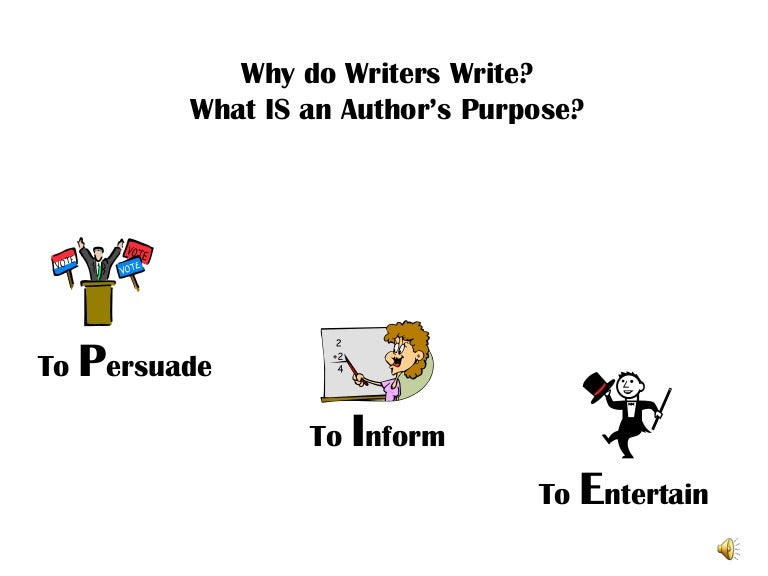 Primary Friendly Author'-s Purpose PowerPoint by Jessica Silvi   TpT