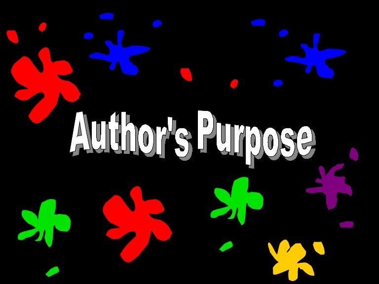 Author'-s Purpose - YouTube