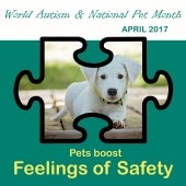 World Autism Awareness and National Pet Month 2017