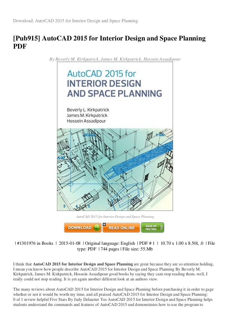 REVIEW Autocad 2015 For Interior Design And Space Planning Pdf 58d4d