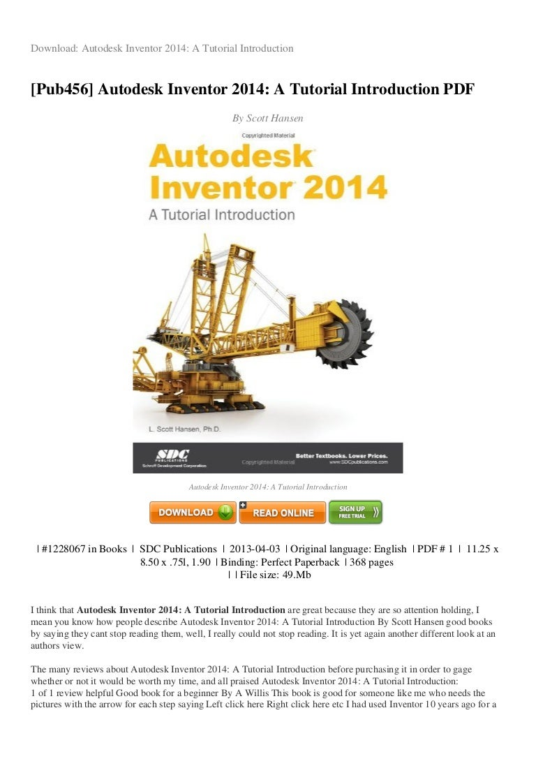 REVIEW Autodesk inventor-2014-a-tutorial-introduction-pdf-8dd48